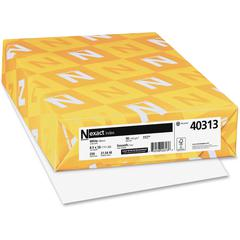 "Exact Inkjet, Laser Print Index Paper - Legal - 8.50"" x 14"" - 90 lb Basis Weight - Smooth - 90 Brightness - 250 / Pack - White"