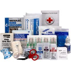 25-person First Aid Kit Refill - 89 x Piece(s) For 25 x Individual(s) - 1 Each