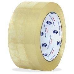 "ipg Hot Melt Carton Sealing Tape - 2"" Width x 1000 yd Length - Polypropylene Film - Rubber Resin Backing - Pressure Sensitive - 6 / Carton - Clear"