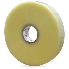 "ipg Hot Melt Carton Sealing Tape - 3"" Width x 1000 yd Length - Polypropylene Film - Rubber Resin Backing - Pressure Sensitive - 4 / Carton - Clear"