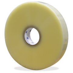 """ipg Premium Hot Melt Sealing Tape - 2"""" Width x 1000 yd Length - Polypropylene Film - Synthetic Rubber Backing - Pressure Sensitive - 6 / Carton - Clear"""