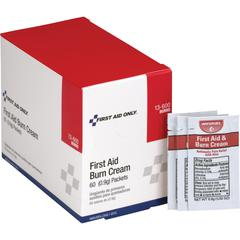 First Aid Only Burn Cream Packets - For Burn, Cut, Scrape - 0.03 oz - 60 / Box