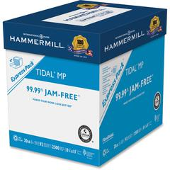 "Hammermill Tidal Laser, Inkjet Print Copy & Multipurpose Paper - Letter - 8.50"" x 11"" - 20 lb Basis Weight - Recycled - Smooth - 92 Brightness - 200000 / Pallet - White"