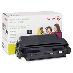 Xerox Remanufactured Toner Cartridge - Alternative for HP 09A (C3909A) - Black - Laser - 16500 Page - 1 Each
