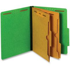 "Pendaflex Pocket Divider Classification Folders - Letter - 8 1/2"" x 11"" Sheet Size - 2 1/2"" Expansion - 2 Fastener(s) - 2"" Fastener Capacity for Folder, 1"" Fastener Capacity for Divider - Internal Poc"