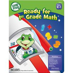 The Board Dudes Leap Frog First-grade Math Workbook Education Printed Book for Mathematics - Book