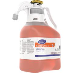 Diversey Stride Citrus HC Neutral Cleaner - Concentrate Liquid - 0.37 gal (47.34 fl oz) - Citrus Scent - 1 Each - Orange