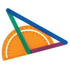 Learning Resources AngLegs Geometry Angles Set - 74 Piece(s) - Assorted
