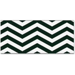 "Trend Looking Sharp Bolder Borders - Precut, Durable, Reusable - 2.75"" Height x 429"" Width - Black, White - 1 Pack"