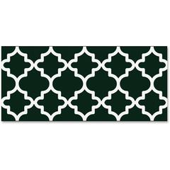 "Trend Moroccan Bolder Borders - Precut, Durable, Reusable - 2.75"" Height x 429"" Width - Black, White - 1 Pack"