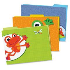 Carson-Dellosa FUNky Frogs File Folders Set - Multi-colored - 6 / Pack