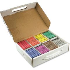 Prang Crayons Master Pack - Assorted - 200 / Box