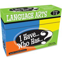 Teacher Created Resources Gr 1-2 I Have Lang. Arts Game - Educational