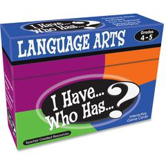 Teacher Created Resources 4&5 I Have Language Arts Game - Educational
