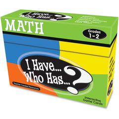 Teacher Created Resources I Have, Who Has Math Game Grade 1-2 - Educational