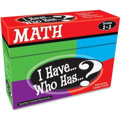 Teacher Created Resources 2&3 I Have Who Has Math Game - Educational