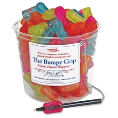 The Pencil Grip The Bumpy Grip - 12/Pack - Neon