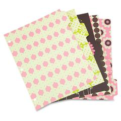 "Wilson Jones Recycled Bliss Dividers - 5 x Divider(s) - 8.5"" Divider Width x 11"" Divider Length - 3 Hole Punched - Assorted Paper Divider - 1 Set"
