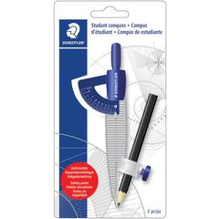 Staedtler Student Compass with Pencil - Blue