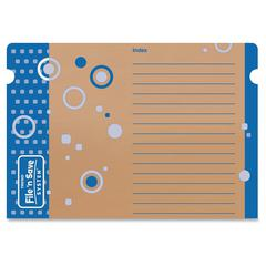 """File 'n Save Poster Sturdy Folder Storage - 20 1/2"""" x 14"""" Sheet Size - 2 Pocket(s) - Card Stock - Multi-colored - 1 Each"""