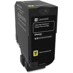 Lexmark Unison Original Toner Cartridge - Laser - High Yield - 16000 Pages - Yellow - 1 Each