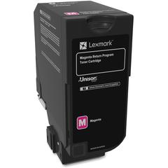 Lexmark Unison Original Toner Cartridge - Laser - Standard Yield - 3000 Pages - Magenta - 1 Each