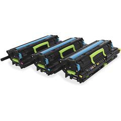 Lexmark Colour (CMY) Return Programme Developer Kit and Photoconductors Pack - Laser - Cyan, Magenta, Yellow