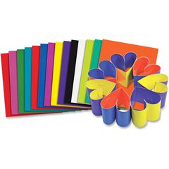 """Roylco Double Color Card Stock - 8"""" x 9"""" - 100 / Pack - Assorted - Card Stock"""