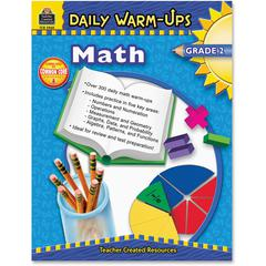 Teacher Created Resources Daily Warm-Ups: Math, Grade 2 Education Printed Book for Mathematics - Book - 176 Pages