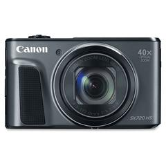 "Canon PowerShot SX720 HS 20.3 Megapixel Compact Camera - Black - 3"" LCD - 16:9 - 40x Optical Zoom - 4x - Optical (IS) - TTL - 5184 x 3888 Image - 1920 x 1080 Video - HDMI - PictBridge - HD Movie Mode"