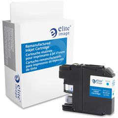 Elite Image Remanufactured Ink Cartridge - Alternative for Brother (LC103C) - Inkjet - 600 Pages - Cyan - 1 Each