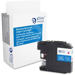 Elite Image Remanufactured Ink Cartridge - Alternative for Brother (LC105M) - Inkjet - 1200 Pages - Magenta - 1 Each