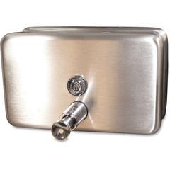 Stainless 40oz Soap Dispenser - Manual - 40 fl oz (1183 mL) - Stainless Steel