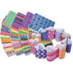 "Roylco Decorative Hues Paper - 5.5"" x 8.5"" - 192 / Pack - Assorted"