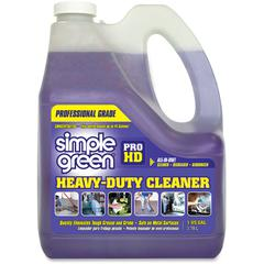 Simple Green Pro HD All-In-One Heavy-Duty Cleaner - Concentrate Liquid - 1 gal (128 fl oz) - 4 / Carton - Clear