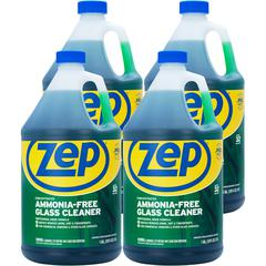 Zep Commercial Glass Cleaner Concentrate - Concentrate Liquid - 1 gal (128 fl oz) - 4 / Carton