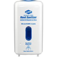 Clorox Hand Sanitizer Touchless Dispenser - Automatic - 1.06 quart Capacity - White - 4 / Carton