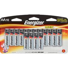 Energizer Max Alkaline AA Batteries - AA - Alkaline - 192 / Carton