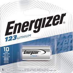 Energizer Lithium 123 3-Volt Battery - Lithium (Li) - 3 V DC - 24 / Carton