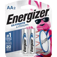 Energizer Ultimate Lithium AA Batteries - AA - Lithium (Li) - 48 / Carton