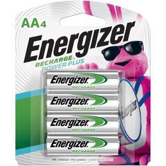 Energizer Recharge NiMH AA Batteries - AA - Nickel Metal Hydride (NiMH) - 96 / Carton