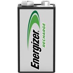 Energizer 9V Recharge Battery - 9V - Nickel Metal Hydride (NiMH) - 9 V DC - 24 / Carton