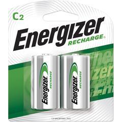 Energizer NiMH e2 Rechargeable C Batteries - C - Nickel Metal Hydride (NiMH) - 48 / Carton