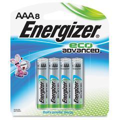Energizer EcoAdvanced AAA Batteries - AAA - Alkaline - 192 / Carton