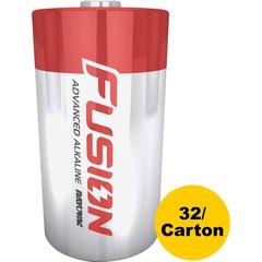 Rayovac Fusion Alkaline D Batteries - D - Alkaline - 32 / Carton