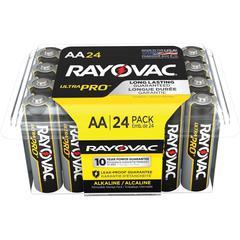 Rayovac Ultra Pro Alka AA24 Batteries - AA - Alkaline - 288 / Carton