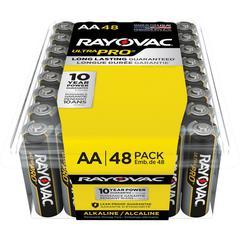 Rayovac Ultra Pro Alka AA48 Batteries - AA - Alkaline - 384 / Carton