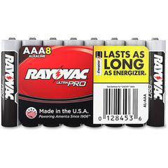 Rayovac Ultra Pro Alkaline AAA Batteries - AAA - Alkaline - 96 / Carton