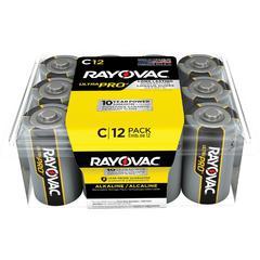 Rayovac Ultra Pro Alkaline C Batteries - C - Alkaline - 96 / Carton