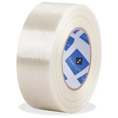 "Sparco Filament Tape - 2"" Core - Fiberglass Filament - Reinforced - 1 Roll - White"